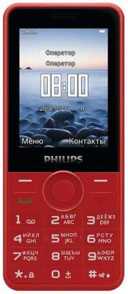 Мобильный телефон Philips Xenium E168 Красный