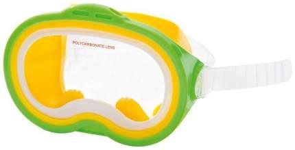 Маска для плавания Intex Sea Scan 55913, от 8 лет, разноцветная