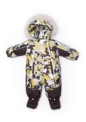 Комбинезон-трансформер Malek-Baby конверт зима №235/3, коричневый 145шм/2 р.68