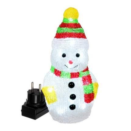 """Фигура VEGAS """"Снеговик  акриловая, 16 холодных LED, 10,5*9*20 см, 3 V /12 /6"""
