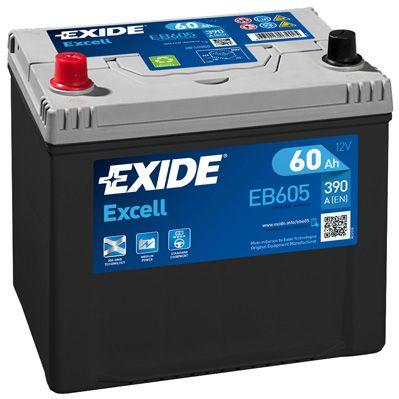 Аккумулятор автомобильный EXIDE EB605 60 Ач
