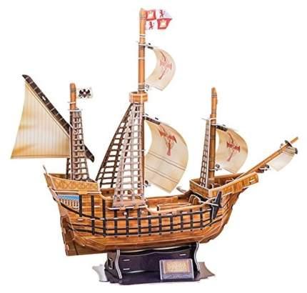 Объемный пазл Cubic Fun Корабль Санта Мария T4008h