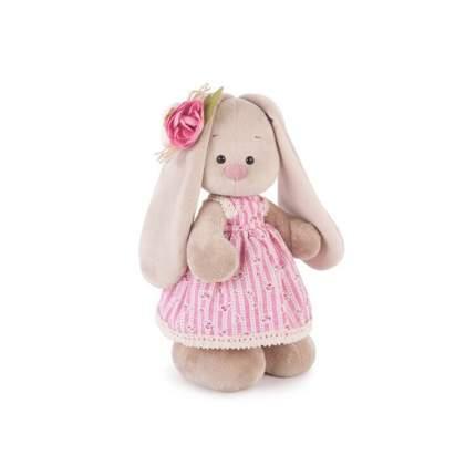 Мягкая игрушка BUDI BASA Зайка Ми в деревенском платье 32 см