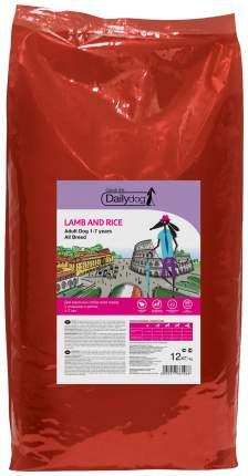 Сухой корм для собак Dailydog Casual Line Adult, ягненок и рис, 12кг