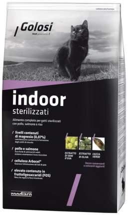 Сухой корм для кошек Golosi Indoor Sterilised, для домашних стерилизованных, курица, 7,5кг