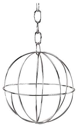 Сенница для грызунов Nobby, подвесной, серебристый 8 см