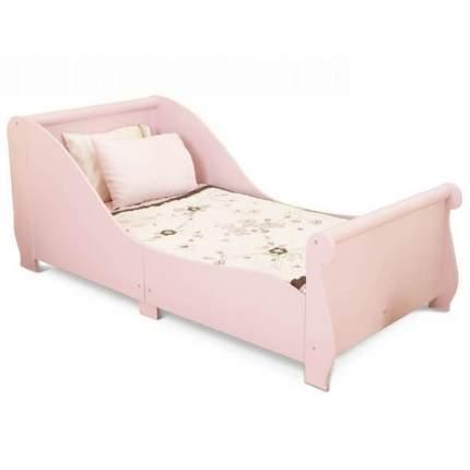 Детская кровать KidKraft Sleigh розовая