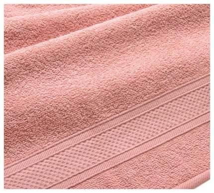 Полотенце махровое с бордюром (кремовое) 100х180