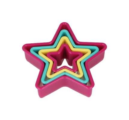 Набор форм Metaltex 25,91,20 Розовый, голубой, желтый