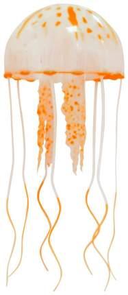 Декорация для аквариума JELLY FISH Медузы оранжевые 2041