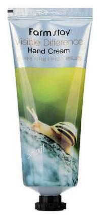 Крем для рук Farm Stay Visible Difference Hand Cream Snail 100 мл