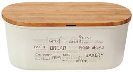 Хлебница с разделочной доской Kesper 4114-0 34х18х13 см Белый