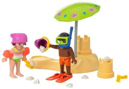 Игровой набор Playmobil Экстра-набор:Дети на пляже