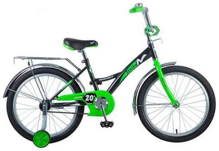 Велосипед детский двухколесный Novatrack Strike 20'' Бело-зеленый