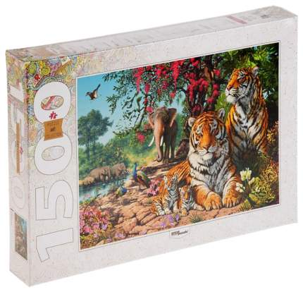Пазлы Step Puzzle Art Collection Тигры 1500 элементов