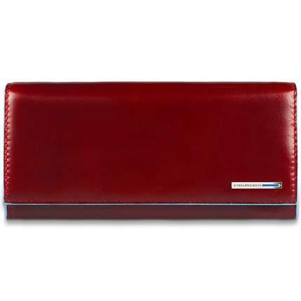 Портмоне Piquadro Blue Square, цвет красный, 19х10х2,2 см