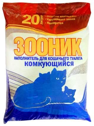 Комкующийся наполнитель туалета для кошек Зооник 20 л