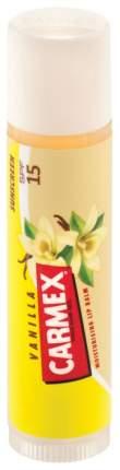 Бальзам для губ Carmex с ароматом ванили SPF15