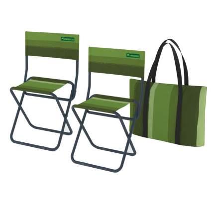 Набор стульев складных в сумке Zagorod N 202 (зеленый)