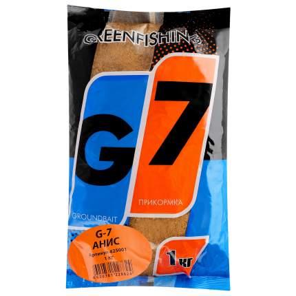 Прикормка летняя Green Fishing G7 Анис 1 кг