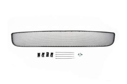Сетка на бампер внешняя arbori для CITROEN C4 2013-2019, черная, 20 мм сота