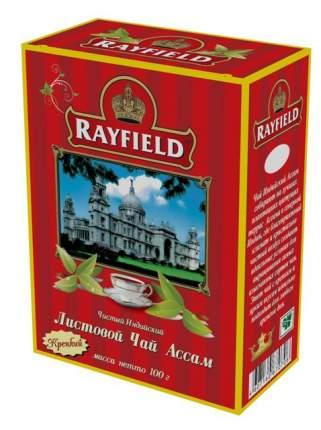 Чай черный Rayfield ассам крепкий 100 г