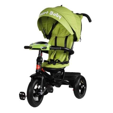 Детский трехколесный велосипед Smart Baby зеленый TS1G