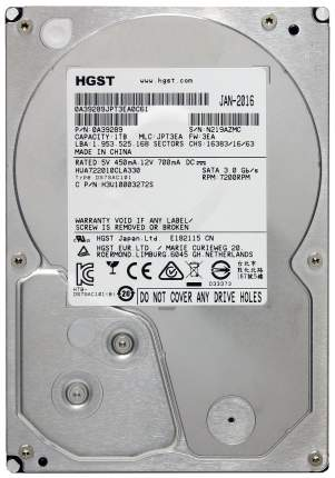 Внутренний жесткий диск HGST Ultrastar A7K2000 1TB (HUA722010CLA330)