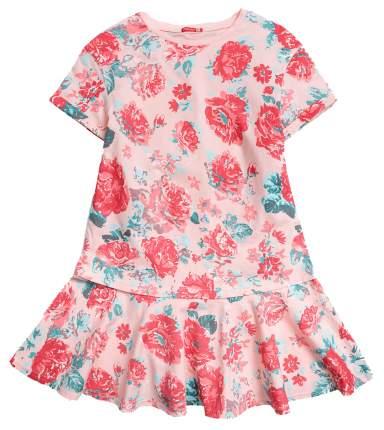 Платье для девочки Pelican GFDT4016 Персиковый р. 140