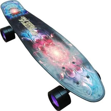 """Скейтборд детский Action! BEAUTIFUL FEELING 22"""" Черный"""