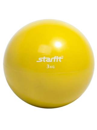 Медицинбол StarFit GB-703 желтый