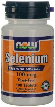 Добавка для сердца и сосудов, добавка для здоровья NOW Selenium нейтральный