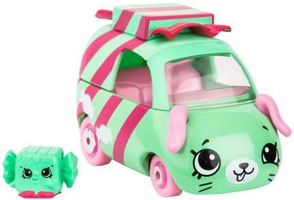Машинка пластиковая Cutie Cars Wrapper rider с фигуркой Shopkins, 3 сезон