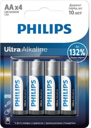 Батарейка Philips LR6E4B/51 Ultra 4 шт