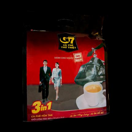 Кофе растворимый G7 3in1 50 пак*16 г