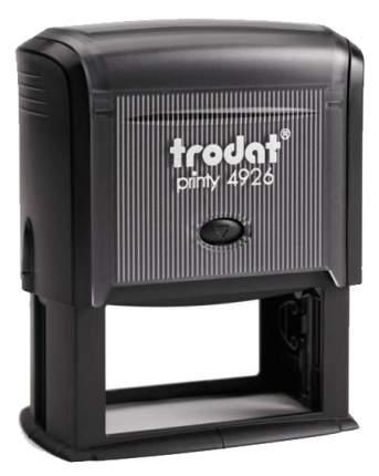 Оснастка для печати Trodat Printy 4926. Размер поля: 75х38 мм. Цвет корпуса: черный.