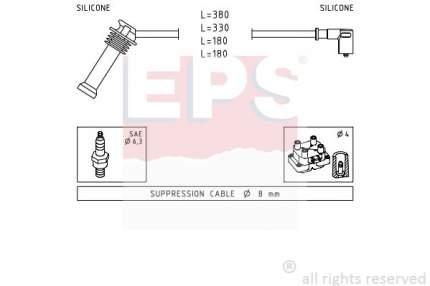 Комплект проводов зажигания EPS 1.501.625