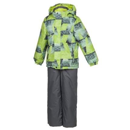 Комплект верхней одежды Huppa, цв. зеленый р. 110