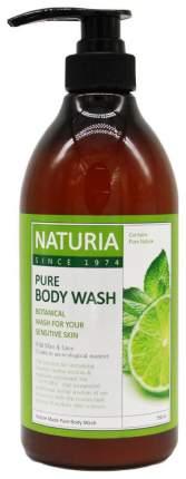 Гель для душа Evas Naturia Pure Body Wash Wild Mint & Lime 750 мл