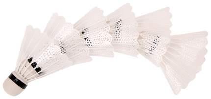 Набор воланов для бадминтона 6 шт Белый