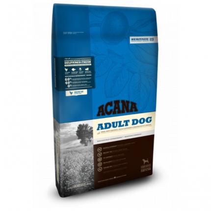 Сухой корм для собак ACANA Heritage Adult, цыпленок, 17кг