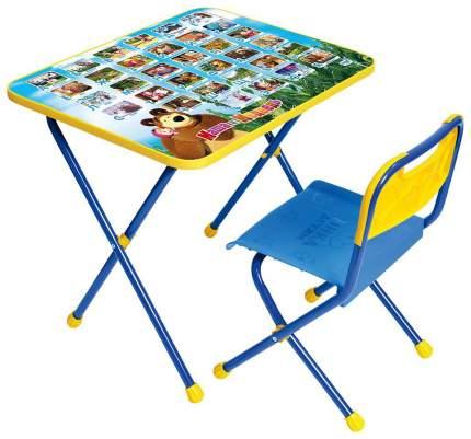 Комплект детской мебели Ника Познайка Позвони мне: Маша и Медведь КП