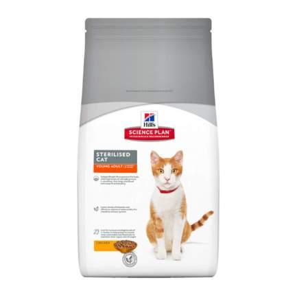 Сухой корм для кошек Hill's Science Plan Sterilised, для стерилизованных, курица, 3,5кг