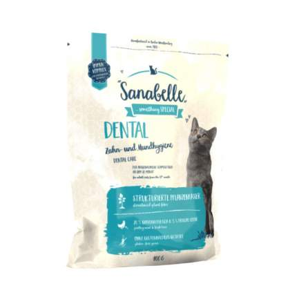 Сухой корм для кошек Sanabelle Dental, домашняя птица, 0,4кг