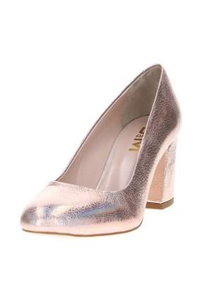 Туфли женские Sandm 706-3050-1202 золотистые 40