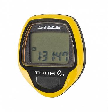 Велокомпьютер Thita-3,10 функций, Желтый