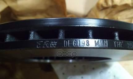 Тормозной диск TRW/Lucas DF6198