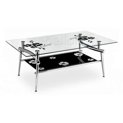 Журнальный стол Woodville 80х46х22 см, бежевый/коричневый