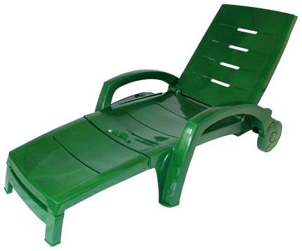 Шезлонг на колесах Hoff 80309866 Темно-зеленый