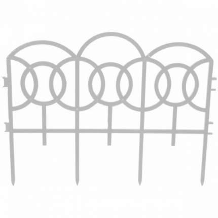 Декоративное ограждение Репка Барокко белый